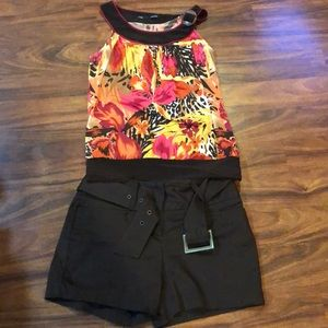 Bundle of super cute top and short.